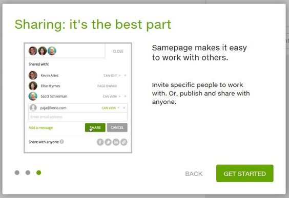 Create a web page, events, photos, anything with SamePage for FREE! #CreateandShare