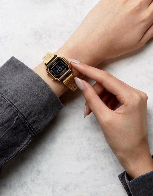 Casio | Casio LA680WEGA 1BER mini digital black face watch