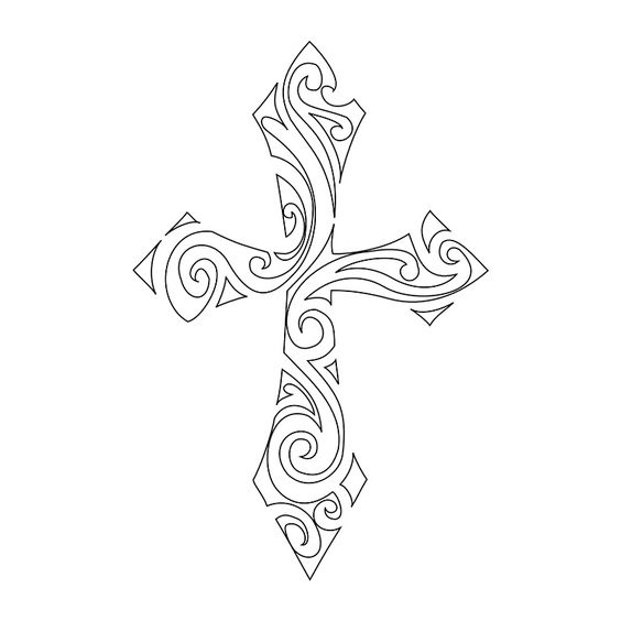 Google Image Result for http://www.tattootribes.com/multimedia/110/swirly-tribal-cross-stencil.jpg