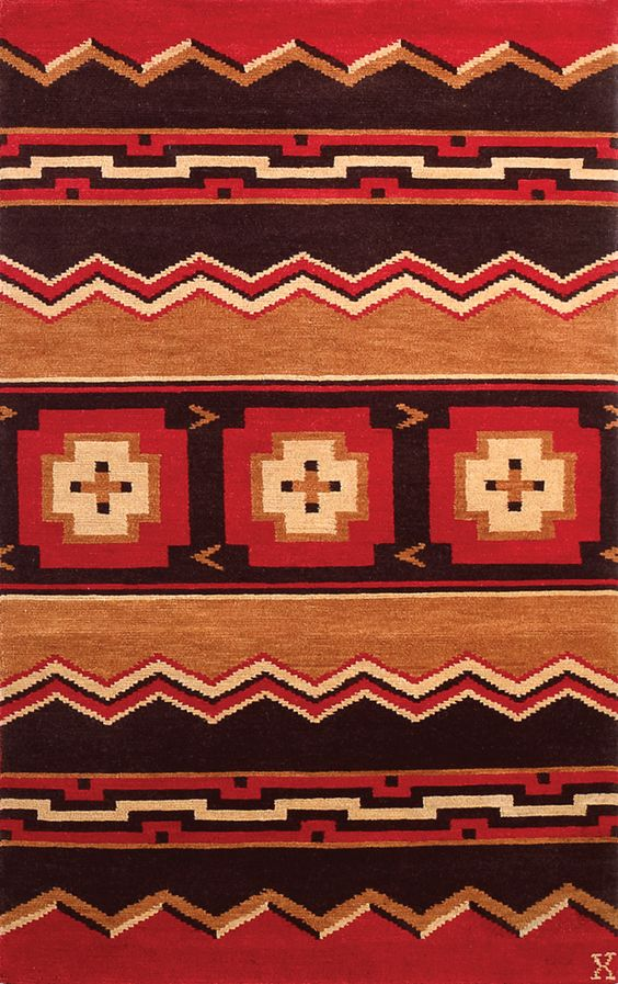 LW12M, brown/orange – Southwestern rugs, Luxury Lodge comes to life in this imaginative collection. Traditions of the past meet modern needs for quality, beauty and comfort in these unique and timeless designs inspired by Native American motifs from the American Southwest. Soft pile weave replaces the traditional flat weave of typical Navajo-inspired carpets, resulting in luxuriously soft, superior quality hand-woven rugs.