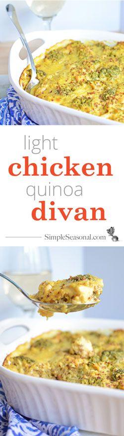 Quinoa, Chicken and Lights on Pinterest
