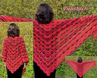 Free Crochet Pattern Virus Shawl Crochet Pinterest ...