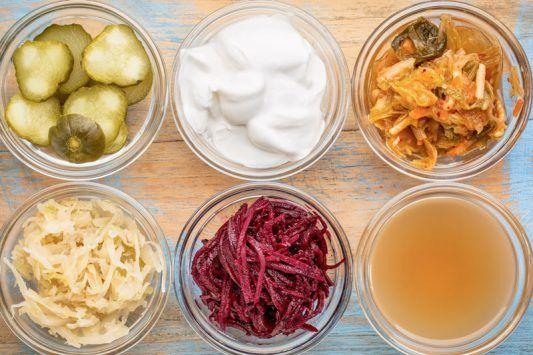 Alimentos Probióticos Para Recuperar La Flora Intestinal Nutrición Probióticos Alimentos Fermentados