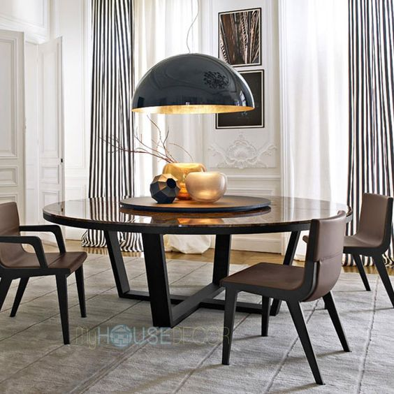 round marble top dining table design xilos by maxalto table