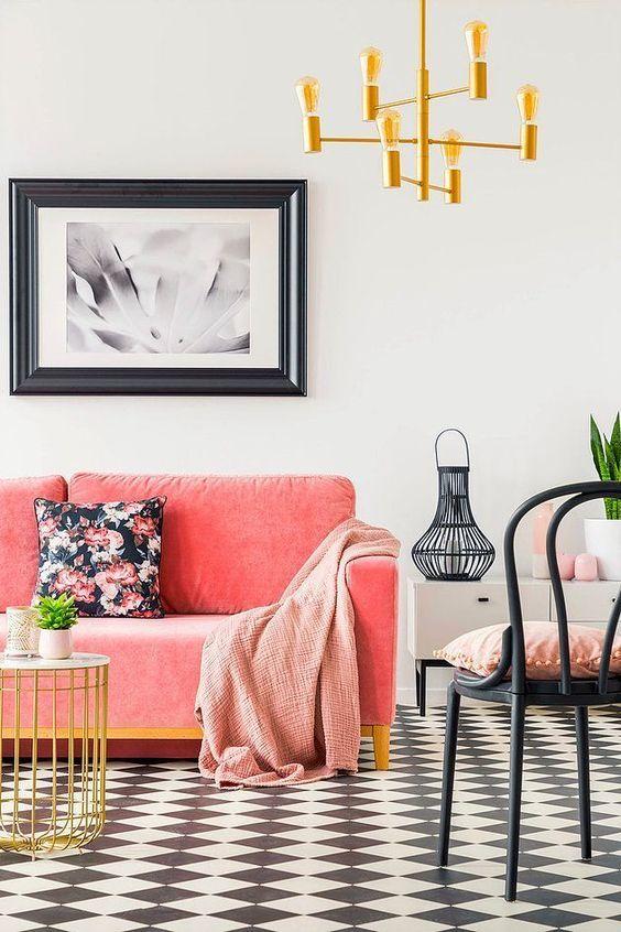 Chic Victorian Coddington Design Den Detail Hgtv Living Room Living Room Decor Eclectic Living Room Orange