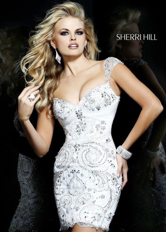 Sherri Hill 21197 Beaded Party DresS ...