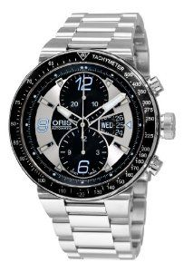 Oris Men's 67976144174MB Williams F1 Team Black and Grey Chronograph Dial Watch
