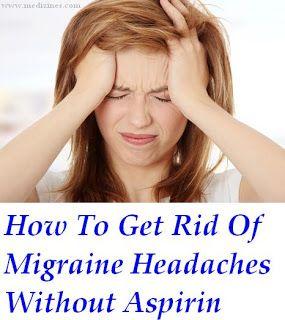 how to get rid of migraine postdrome