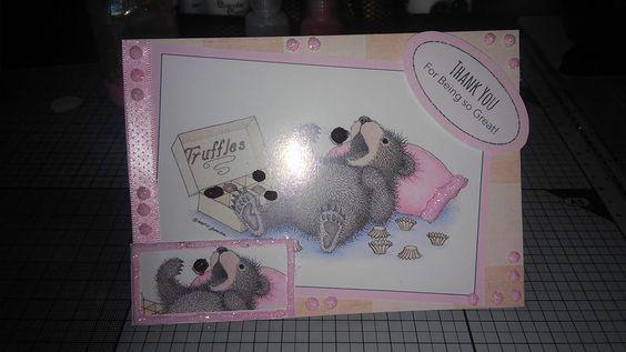 house mouse card I made.