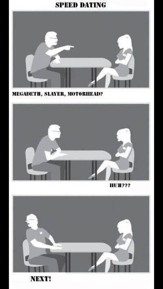 Hitch speed dating speech