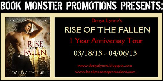 Rise of the Fallen Anniversary Blog Tour 2013