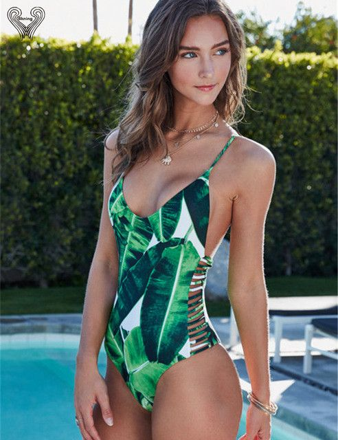 6fc0b43f80b55 One Piece Swimsuit Push Up Swimwear Women One-piece Swimming Suit Beach  Wear Padded Monokini Sexy Bathing Suit Swim Suits One Piece Swimsuit Push Up  ...