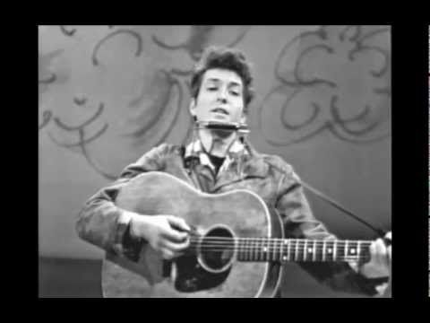 """Blowing In The Wind (Live On TV, March 1963) - YouTube.  Bob Dylan wrote """"Blowin' In The Wind""""  51 years ago."""
