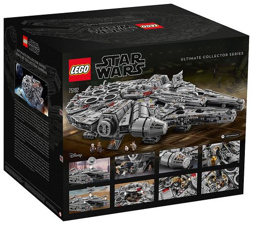 Lego Star Wars Ultimate Collector Series Millennium Falcon 75192 Officially Announced With Images Lego Sets Lego Star Millennium Falcon Lego