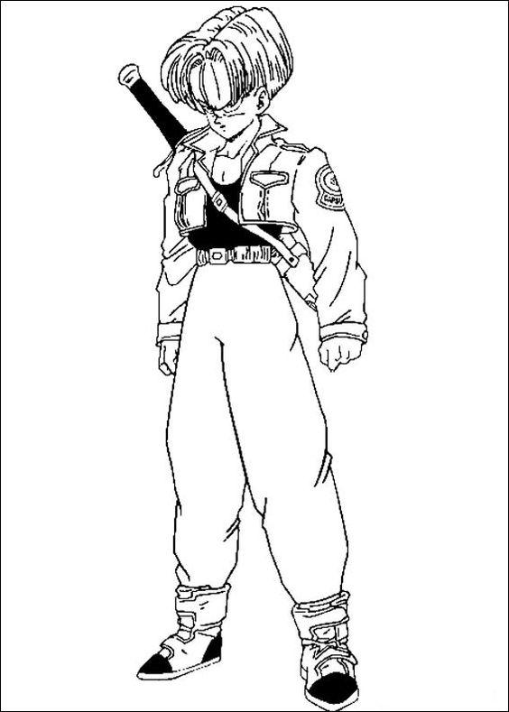 Dragon Ball Z Ausmalbilder. Malvorlagen Zeichnung druckbare nº 61 ...