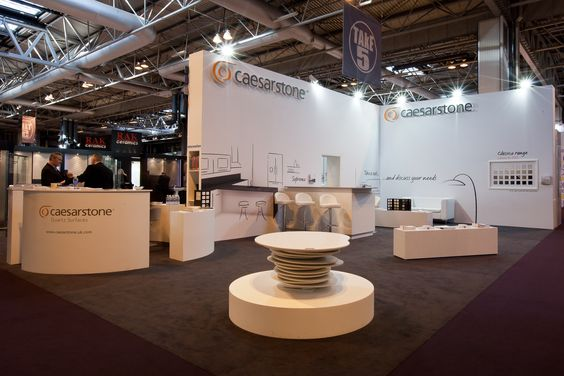 Exhibition stand for Caesarstone at KBB