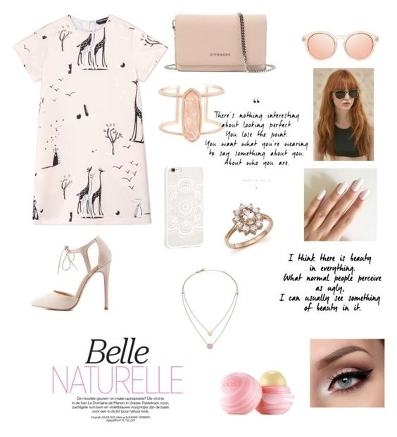 """""""Sem título #48"""" by izabelle-magalhaes ❤ liked on Polyvore featuring beauty, Rochas, Charlotte Russe, Givenchy, Prism, Eos, Kendra Scott, Michael Kors and Bloomingdale's"""