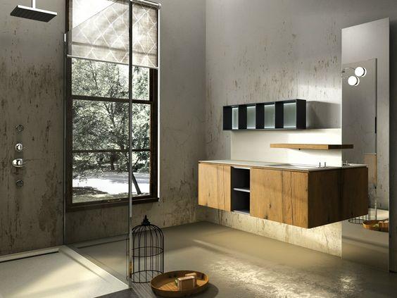 Edone design bagno collezione mobili da bagno edon blu a kyros