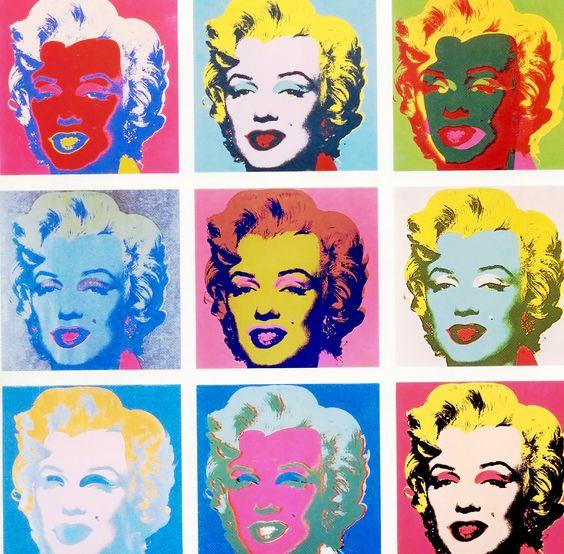 Afbeeldingsresultaat voor andy Warhol marilyn
