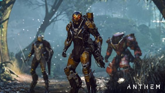 Anthem is out on PS4, Xbox One and PC.
