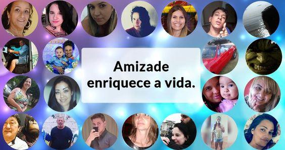 Crie uma colagem de amizade com 21 amigos!