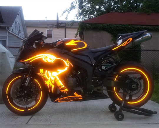 "Previous pinner called it her ""Dream motorcycle…"" I call it the REM Cycle (cue CSI Miami theme)"