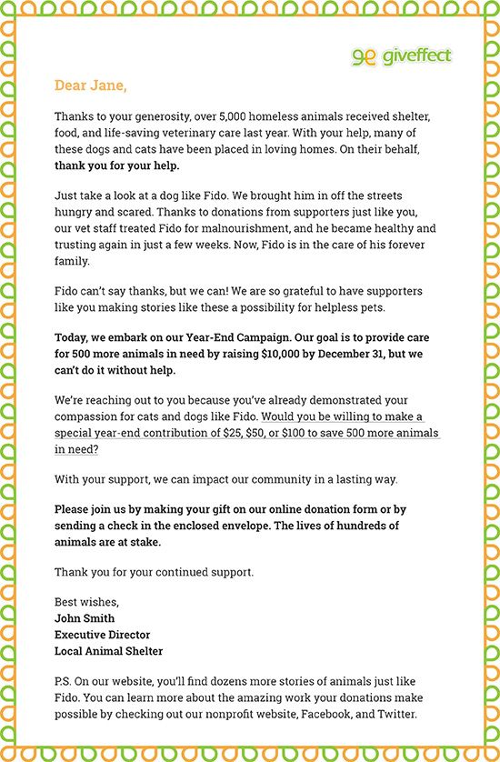 7 Great Year End Appeal Letter Tips With Free Samples