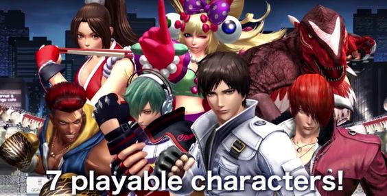The King of Fighters XIV Demo Coming Tomorrow! Archived EVO2016 Footage!