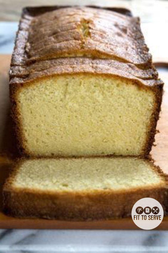 Low Carb Cream Cheese Lemon Pound Cake