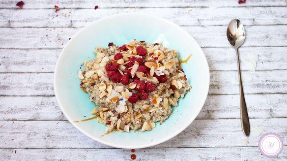 Tolle Idee für ein Frühstück: Overnight Quinoa