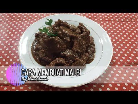 Cara Membuat Malbi Daging Sapi Youtube Makanan Dan Minuman Daging Sapi Makanan