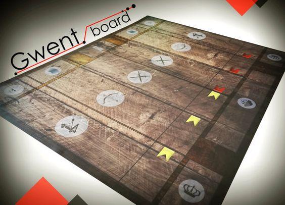 Tous les Fans de The Witcher et Gwent je voudrais invitent à acheter: Gwent Conseil!  EN BREF: -La conception unique inspiré par le tableau de The Witcher 3 chasse sauvage. -La planche est faite sur le matériel extrêmement résistant. -Il convient parfaitement pour les cartes ajoutés à «Cœur de Pierre» et «sang et vin» -Il facilite le jeu et améliore le plaisir du jeu en Gwent -Ensemble!  PROJET : Projekt - planche a été préparée spécialement pour la version physique de la carte du…
