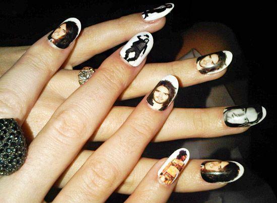 Katy Perrys Crazy Nail Art Nail Art Sports Stars And First