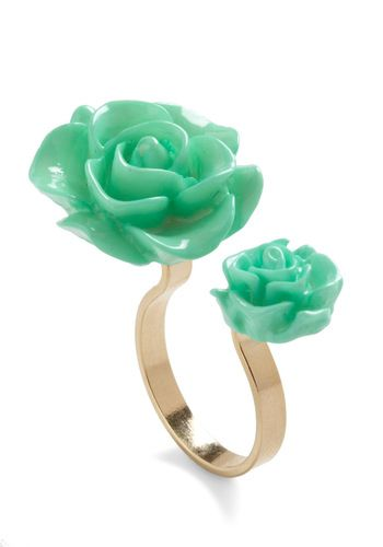 sweet! ^.^   mint | rosette | ring