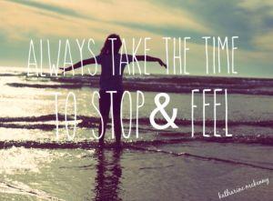 Grenzen voelen: stop en voel! - Je rust terug door stilte: