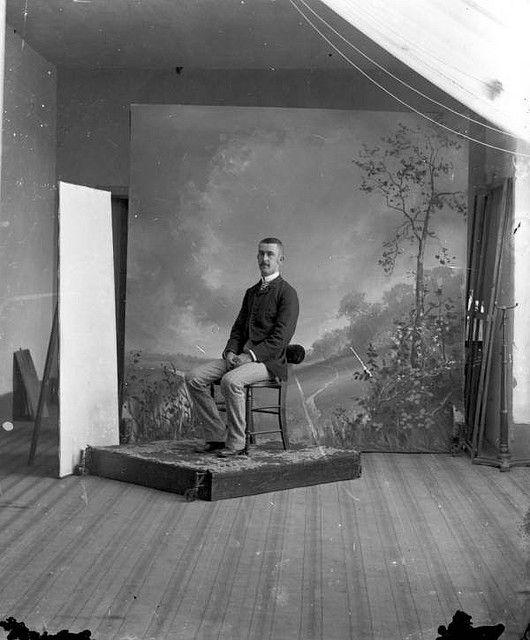 Studio Lighting Vs Natural Light: Old-time Natural Light Portrait Set Up. Laurie A. Perkins
