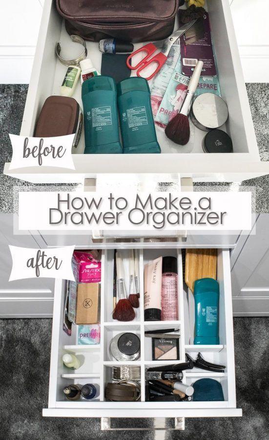 Diy Bathroom Drawer Organizer Bathroom Drawer Organization