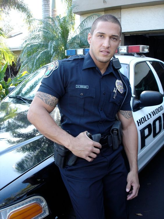 Gay in officer police porn