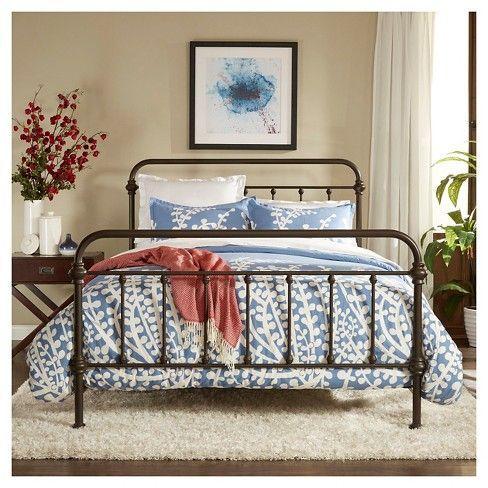 Inspire Q Metal Beds Bed Frame, Metal Bed Frame Queen Target