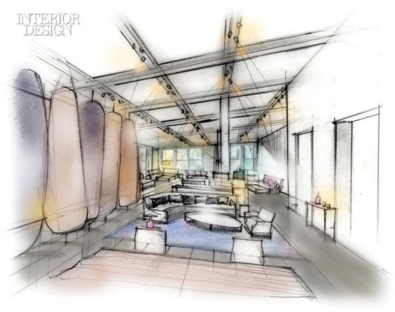 interior design sketches interiors and lounge design on