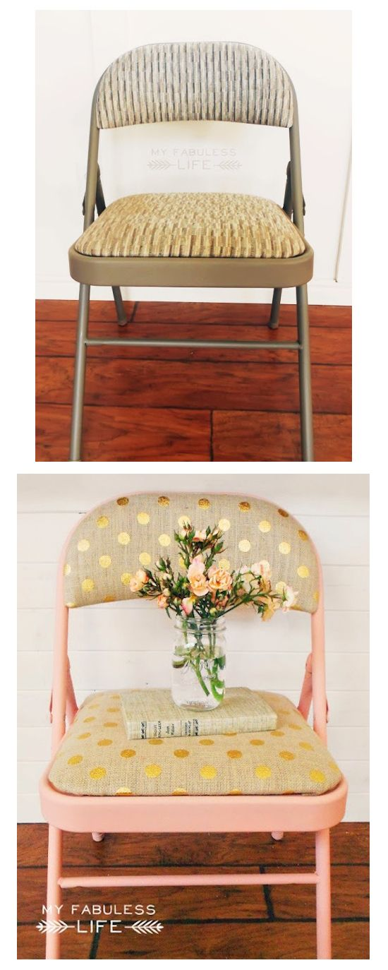 Gold chairs Furniture and Too cute on Pinterest