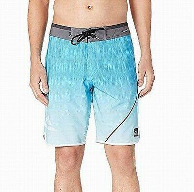HURLEY New NWT Mens Board Shorts Swim Blue Stripe 33 38