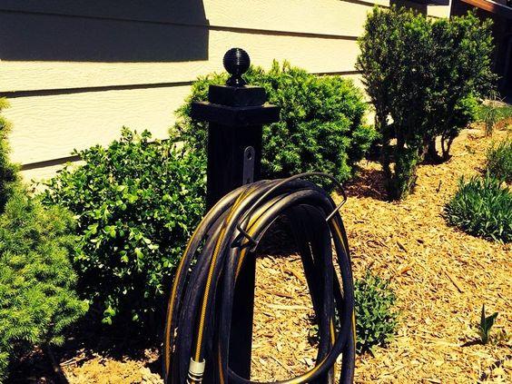 Ma maison au naturel: Comment ranger le tuyau d'arrosage