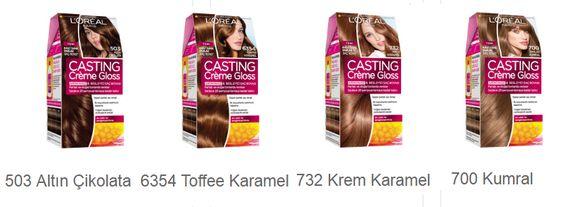 L'oréal Paris Casting Creme Gloss Renk Kataloğu