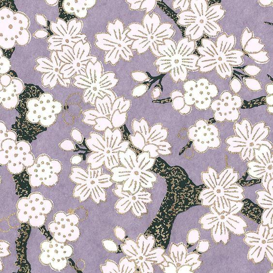 Papier japonais papiers peints japonais pinterest for Meubles peints japonais
