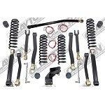 Clayton Premium Jeep Wrangler JK 3.5 Inch Lift Kit (07-12+)