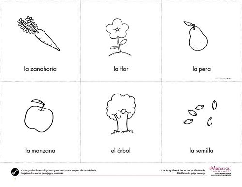 Printables Preschool Spanish Worksheets worksheets la primavera preschool spring theme pinterest preschool2s printablespreschool spanishpreschool