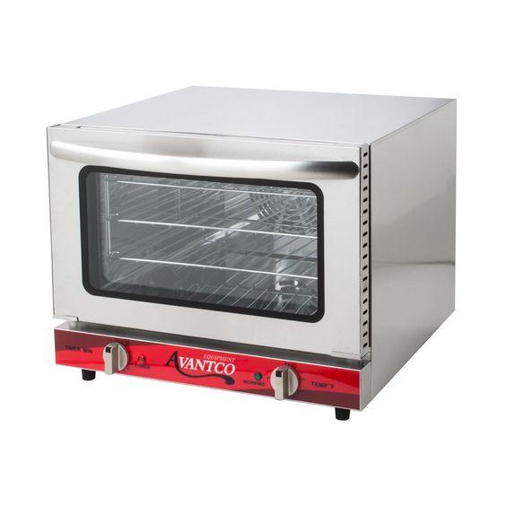 Avantco Co 14 Quarter Size Countertop Convection Oven 0 8 Cu Ft