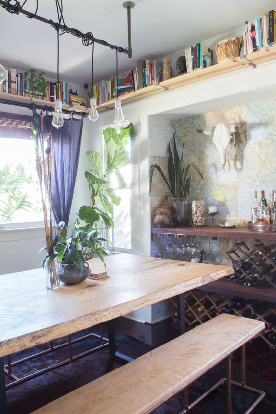 Alex and Max's Earthy and Eclectic Venice Bungalow