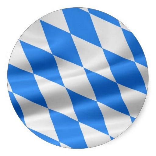 Weiß-Blaue bayerische Flagge #verkauft auf #zazzle